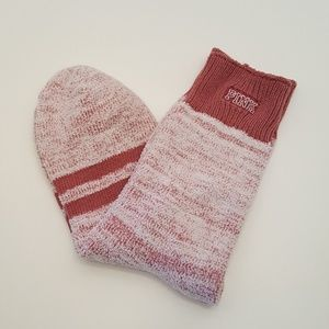 PINK Victoria's Secret Crew Socks